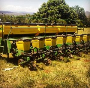 Maize Planting No Till