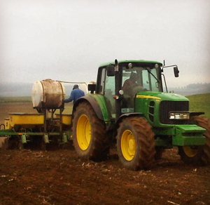 maize planting Agricultural Contracting Underberg